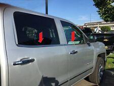 CHEVROLET SILVERADO/GMC SIERRA 2014-2017 TFP CHROME WINDOW SILL INSERT(CREW CAB)