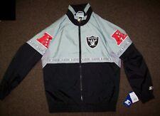 VEGAS RAIDERS NFL Starter Full Zip Jacket SUMMER/FALL  S M L XL 2X High Detail