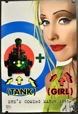 TANK GIRL 1995 ORIG ADVANCE 27X40 SS MOVIE POSTER LORI PETTY ICE-T NAOMI WATTS