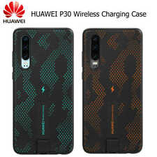 Official Genuine Huawei P30 Qi Wireless Charging Case -SparkleBlue/DynamicOrange