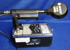 Bicron Surveyor50 w/PGM GM Pancake Probe & Check Source GeigerAlpha/Beta/Gamma