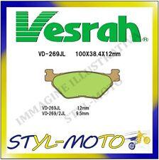 VD-269/2JL PASTIGLIE POSTERIOR SINTERIZZATE VESRAH SANYANG(SYM) VOYAGER 250 2005