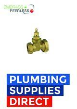 * 22mm Central Heating Pump Isolation Gate Valve  Brass