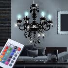 LED lustre luminaire de plafond intensité variable Lustre RGB avec télécommande