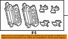CHRYSLER OEM Brake-Rear Pads 68028671AA