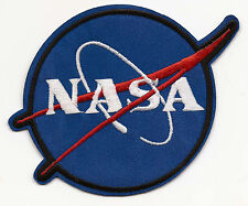 NASA Embroidered Patch Iron-on Motif 10.5x9.8cm Art Good Luck Magic