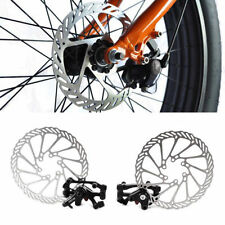 Disques de freinage de vélo noir
