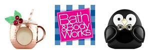 Bath Body Works ScentPortable Winter Car Freshener Holder Clip All Retired!