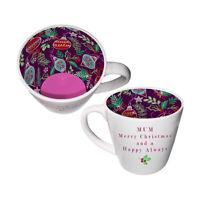 Inside Out Mum Christmas Mug