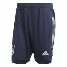 Adidas Football Soccer Juventus FC JFC Mens Training Shorts with Zip Pockets