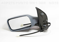 FIAT PUNTO MK1 176 DOOR wing MIRROR 3 DOOR 1993-97 ELECTRIC HTD PRIMER ADP271 LH