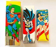 Batman Coiffage Brosse Avon 1976 DC COMICS SUPERMAN Bain Moussant Wonder Woman