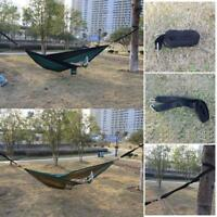 2 STK  Hängematte mit Moskitonetz Outdoor-Reise-Camping-Picknick-Praktische G3K4