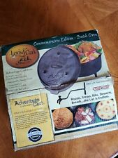 "Rare DO-10 10"" Cast Iron Covered Dutch Oven Lewis & Clark  Commemarative Edition"