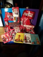 VINTAGE COCA COLA group lot  display items x25