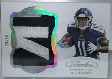 A.J. Brown 3-Card Lot - 2019 Flawless RC Patch /20 + XR RC Mat'l /25 + Select