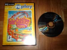 ROLLER COASTER TYCOON...jeu complet...sur PC