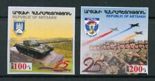 Karabakh Republic of Artsakh 2017 MNH Defense Army 2v S/A Tanks Military Stamps