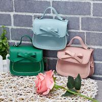 Child Kid Girl Fashion Leather Knot Handbag Crossbody Messenger Shoulder Bag