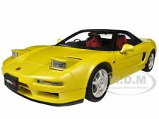1992 HONDA NSX TYPE R YELLOW 1/18 DIECAST CAR MODEL BY AUTOART 73297