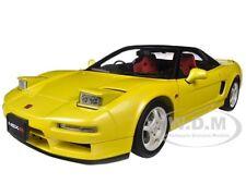 1992 HONDA NSX TYPE R YELLOW 1/18 DIECAST CAR MODEL BY AUTOART 73297