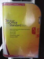 Microsoft Office 2007 Standard, Word, Excel, PowerPoint, Outlook