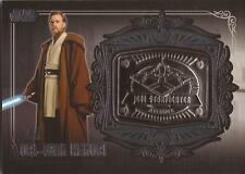 "Star Wars Galactic Files 2 - MD-25 Obi-Wan Kenobi ""Starfighter"" Medallion Card"