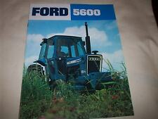 Ford 5600 Tractor Advertising Brochure Nice