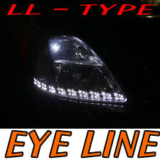 LED Eye Line White 6000k Light DIY For 2008 2011 Kia Forte Cerato