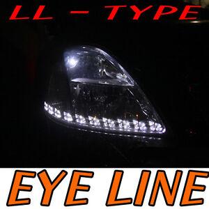 LED Eye Line White 6000k Light DIY For 2006 2011 Hyundai Getz
