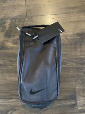 New Nike Golf Departure Shoe Tote Bag Travel Black BA5738-010 Fit Jordan Nike