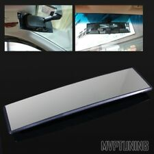 JDM 300mm Convex Curved  Anti-Glare Interior Clip-On Panoramic Rear View Mirror