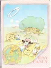 TINY CANDY 80s Gakken Mondadori italy notebook school - quaderno scuola 016