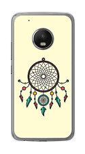 Cover IN Gel TPU Per Lenovo Moto G5 Plus Disegno Acchiappasogni Disegni