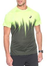 Men's ASICS Shorts Fitness Gym Running Tennis Sports Short - Grey S