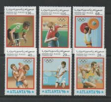 Thematic Stamps Sports - SAHARA 1996 OLYMPICS 6v mint