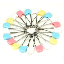 12pcs Random  Generic Cloth Diaper Pins Stainless Steel Traditional Safety Pin
