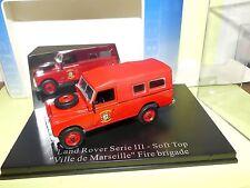 Land Rover Serie III Pompiers Brigade de Marseille Universal Hobbies 1 43