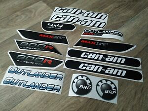 Stickers Decals for Quad bikes BRP Can-Am Outlander Max 800R XT 2011