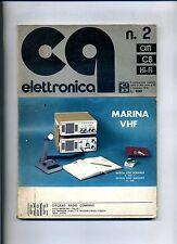CQ ELETTRONICA  N.2 - 1 Febbraio 1974 - Rivista Mensile