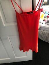 X2 Dresses Size 6 Black Boohoo, Burgundy Missguided.