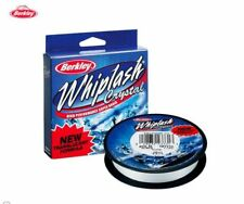 TRECCIATO SPINNING WHIPLASH CRYSTAL 110 MT BERKLEY 0,15 MM PESCA FILO 45 LB