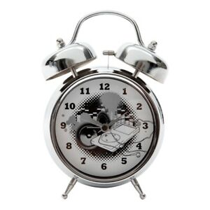 Tik Tok Tubell Alarm Clock - Ipod Metal In Grey