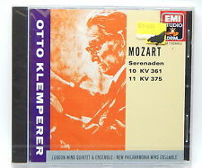 Mozart: Wind Serenades [Nos. 10 & 11] / Otto Klemperer ~ New CD (W. Germany)