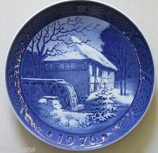"Royal Copenhagen Christmas Plate 1976 ""Wibæk Water Mill"" 1st Quality"