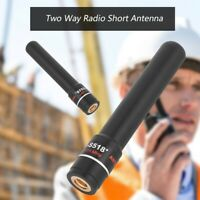 HH-S518+ SMA-Male 144/430MHz High Gain Dual Band Short Antenna for Walkie Talkie