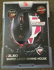 ZL50 Sniper Edition Laser Wired GAMING Mouse - 11 Prog Buttons - BRAND NEW Red