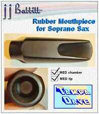 Soprano Sax mouthpiece quality hard rubber mpc MED *NEW