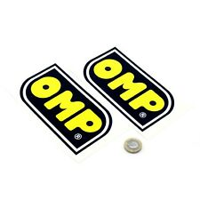 OMP STICKERS Decal Vinyl Car 150mm x2 Race Racing Car