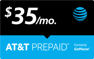 $35 AT&T PREPAID REFILL DIRECT to PHONE GET IT TODAY! 🔥 IF PAY BEFORE 11 PM ET